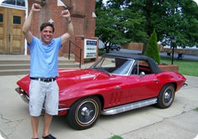 St. Bernard Church Corvette Raffle Winner 2011