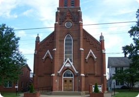 St. Bernard Catholic Church in Rockport, Indiana